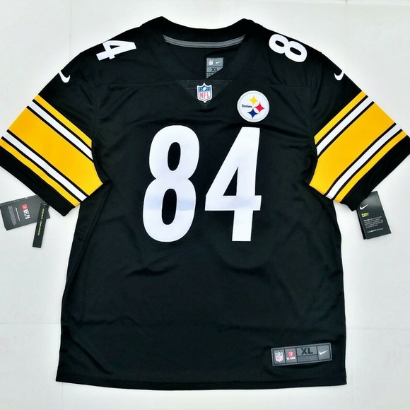 hot sale online 407aa 434a6 Nike NFL Pittsburgh Steelers Antonio Brown Jersey NWT